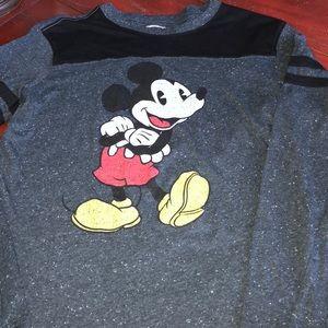 Men's Mickey Mouse shirt sz M GUC